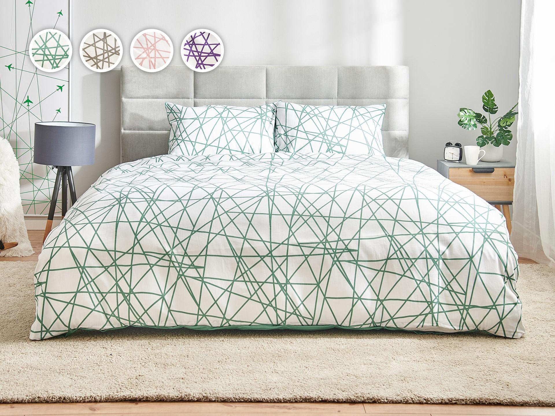 Комплект постільної білизни Геометрія Dormeo Lines 7bb4b5ab87dd5