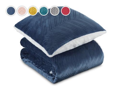 Набір ковдра та подушка Теплі обійми 2021