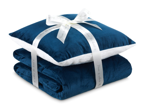 Набір подушка та ковдра Теплі обійми I 2020