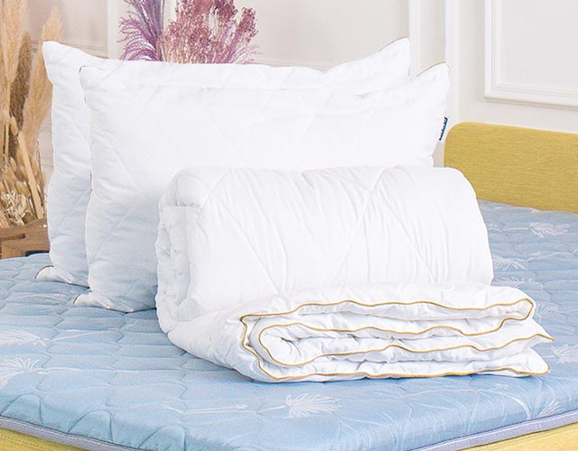 Ковдра та подушка Злата