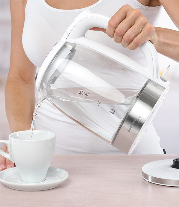 Delimano Joy Glass Kettle