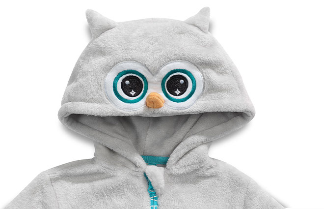 Dormeo Emotion Owl Jumpsuit Kids