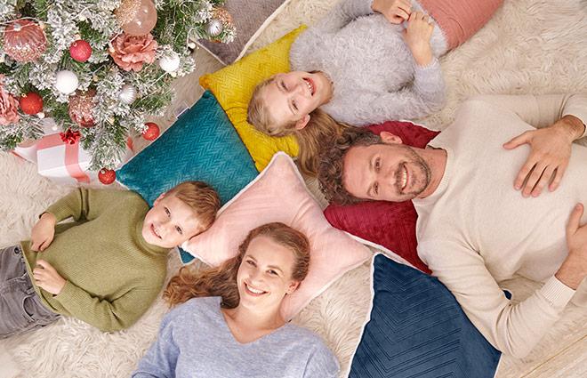 Декоративная подушка Dormeo Warm Hug 2021