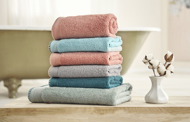 Dormeo Whipstitch Towel